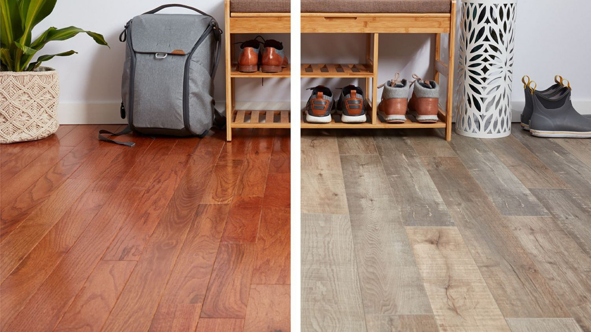 Laminate or wooden